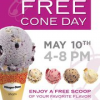 Free Cone Day at Haagen-Daz 5/10