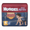 * SUPER HOT * Huggies Jeans Little Movers Diapers Size 4 For Only $1.99 Per Pack at Diapers.com