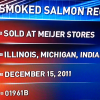 Recall - Vita Classic Premium Sliced Smoked Atlantic Nova Salmon - Sold At Meijer
