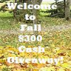 Giveaway - Welcome to Fall $300 Cash Giveaway (Ends 9/18 at 12:01 AM EST)