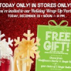 Free Gift with Purchase at Bath & Body Works Today 12/19
