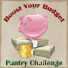 {Giveaway} Boost Your Budget Pantry Challenge - Week 2 (Ends 1/15)