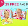 25 Free 4&#8243; x 6&#8243; Prints at Walgreens Today 4/5