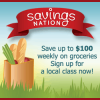 {#SavingsClasses} TONIGHT – FREE Grocery Savings Workshop 2/22/13