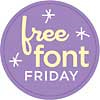 Free CK Crafty Dots Font Download from Creating Keepsakes Through 3/1/13