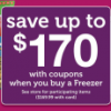 {#HOT} Buy a Freezer for $169.99, Get $170 in Coupons from Jewel-Osco Starting 2/3/13