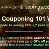 {#SavingsClasses} Free Grocery Couponing 101 Webinar with LearnVest and Savings.com on 04/05/13