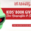 {#GiveBack} Free Kids' Books from Half Price Books for Nonprofit Organizations