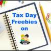 Get Your Tax Day Freebies Today 04/15/13