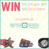 GIVEAWAY: Enter to win a $50 Keep Your Pants On Gift Coupon for you and one to give to a friend (Ends 8/30/13 at 11:59 PM EST)