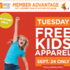 * HOT * Free Kid's Apparel at Sears Outlet Today 9/24/13