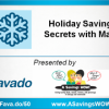 * UPDATED DATE * Come to the Holiday Savings Secrets Workshop 11/20 – Aurora, IL