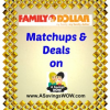 Family Dollar Matchups and Deals 12/1-12/7/13