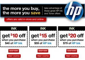office depot hot new hp ink coupons through 721 a savings wow new hp coupon for 100 off custom or preconfigured laptops 300x212