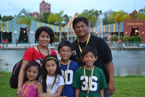 Fantasia Gardens Family Photo