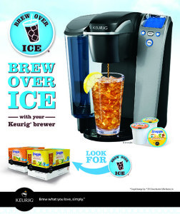Brew Over Ice with Keurig Brewer