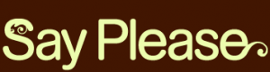 Say Please Logo
