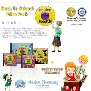 Golden Records Back to School Prize Pack